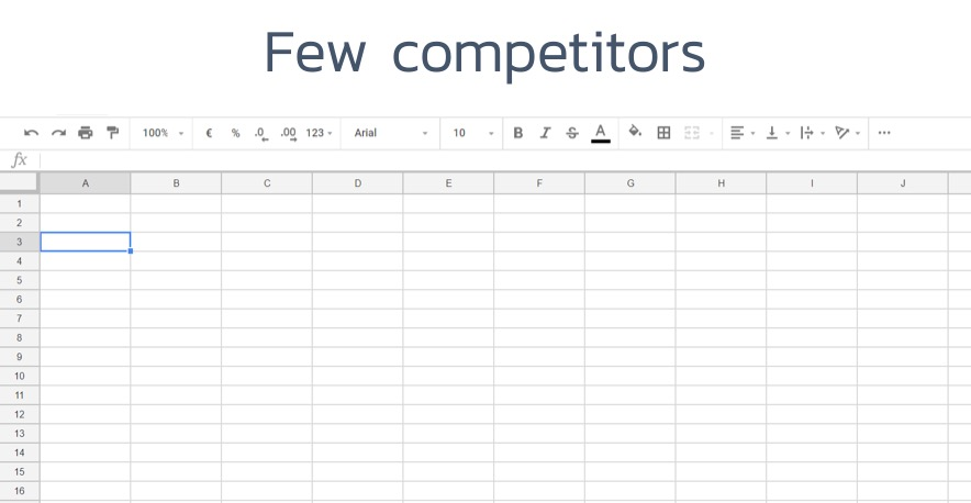 low-competition-Excel