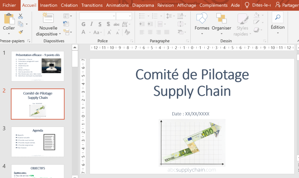 pdf power point supply chain logistique