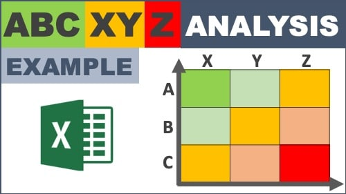 abc xyz classification excel