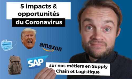 impacts opportunité métier logistique