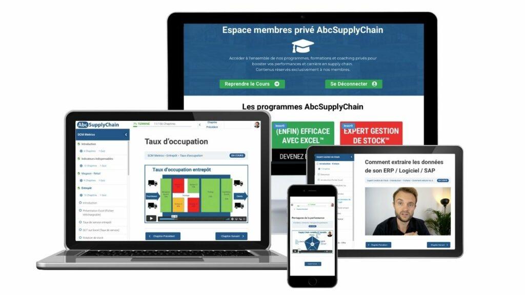 formation en ligne supply chain logistique